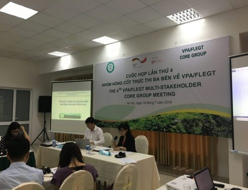 The 4th meeting of Multi-Stakeholder Implementation Core group on VPA/FLEGT