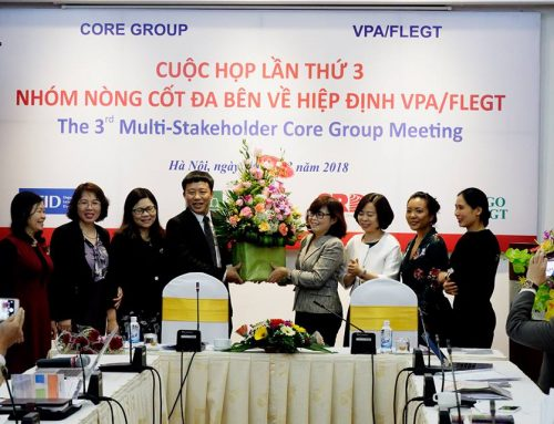 The 3rd meeting of Multi-stakeholder Implementation Core Goup on VPA/FLEGT